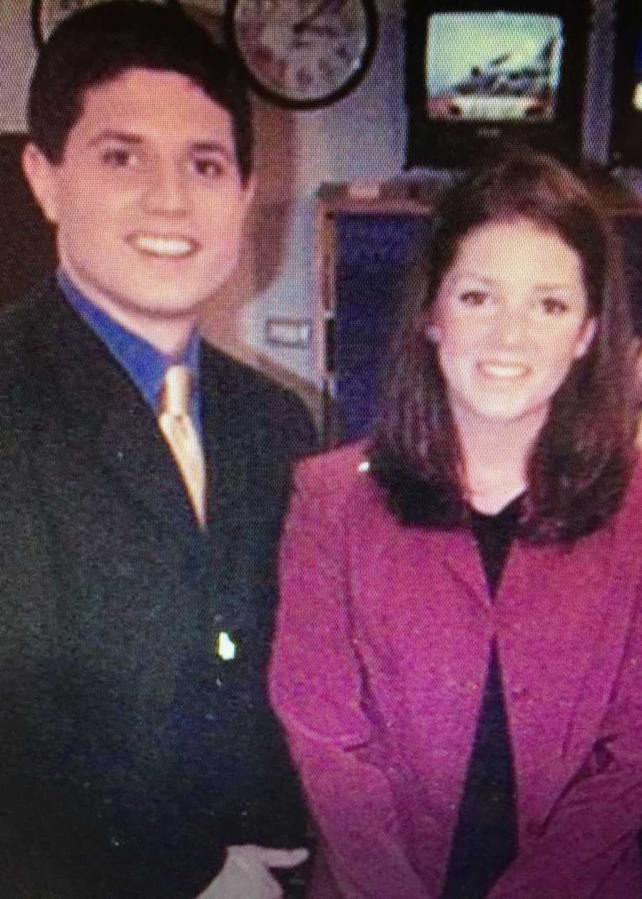 where he was classmates with EyeOpener anchor Emily Reimer...
