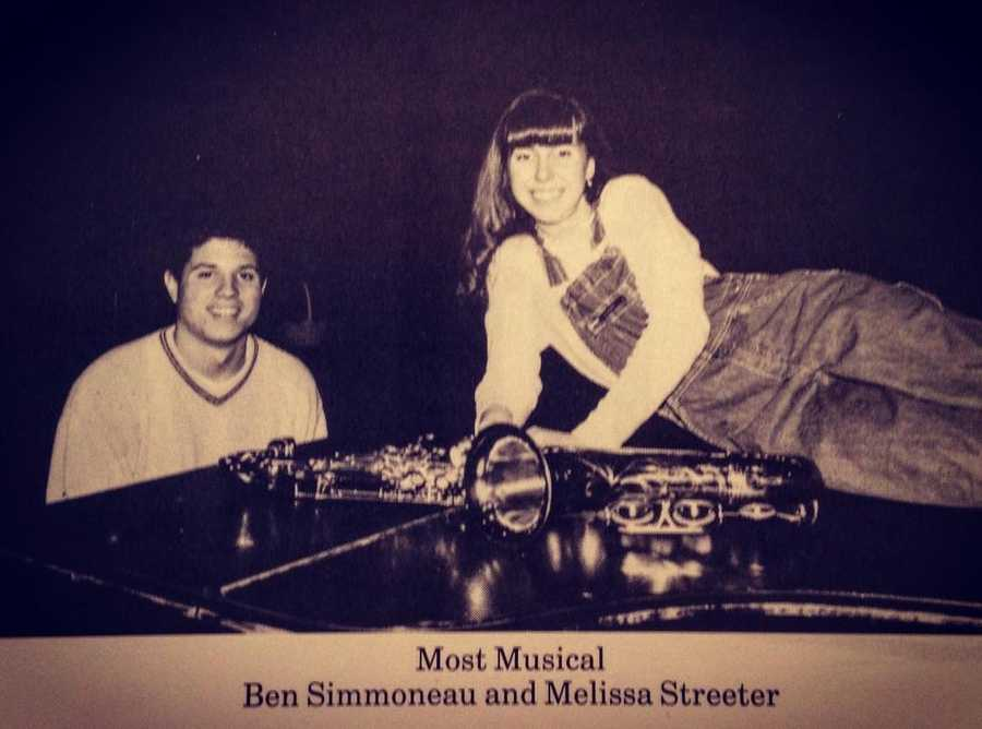 "In high school, Ben was named ""Most musical."""