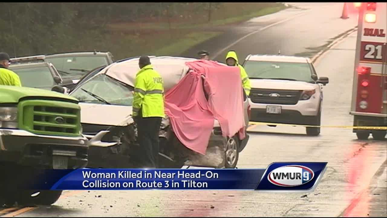 Route 3 in Tilton was closed in both directions Monday evening after a fatal head-on crash.