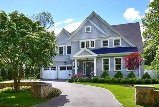 6 Sawyer Road is on the market in Wellesley for $2,785,000.