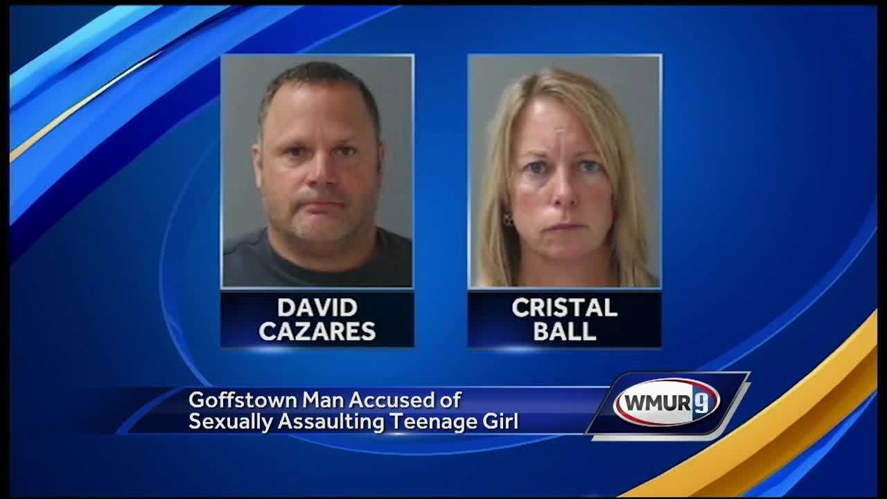 A Goffstown man is facing several charges after he was accused of sexually assaulting a teenage girl over the course of several months.