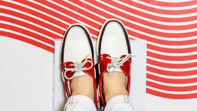 Shoe photo tweeted by Ralph Lauren.
