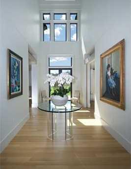 Entrance into breathtaking 21' soaring central gallery.