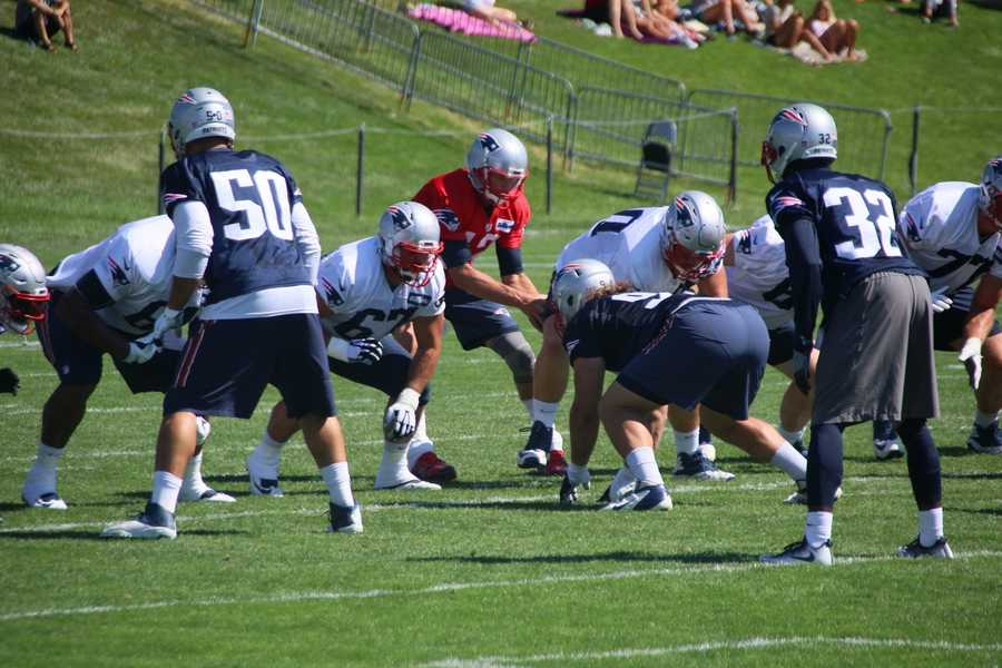 The New England Patriots are just days away from their first preseason game against the New Orleans Saints.  Monday was all about the hurry-up offense.