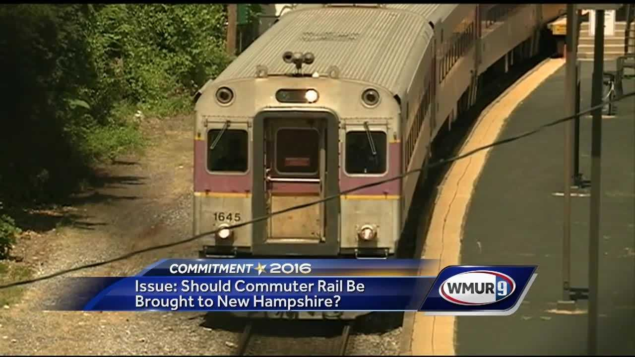 A commuter rail line extending into New Hampshire: It's an idea that's been debated many times, but is once again being discussed ahead of the state primary next month.