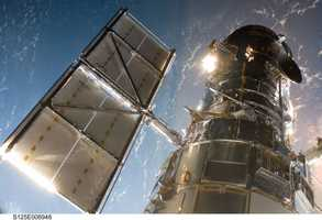 Hubble has traveled more than 3 billion miles in low Earth orbit, about 340 miles up.