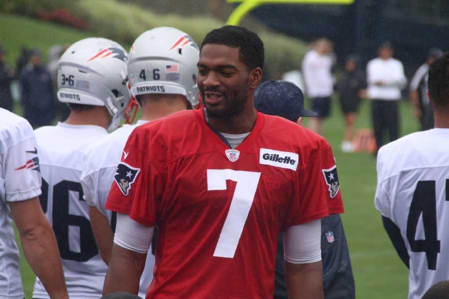 Patriots rookie quarterback Jacoby Bresette.