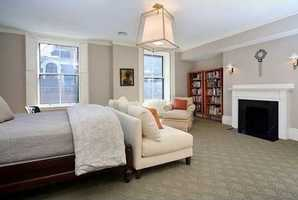 Incredible MBR suite with fabulous master bath with radiant heated floors, rain shower head.