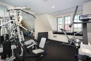 Great exercise room.