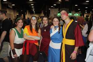 "This group of friends cosplay the characters of ""Avatar: The Last Airbender."""