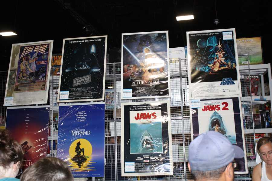 Need a movie poster? Comic Con has you covered.