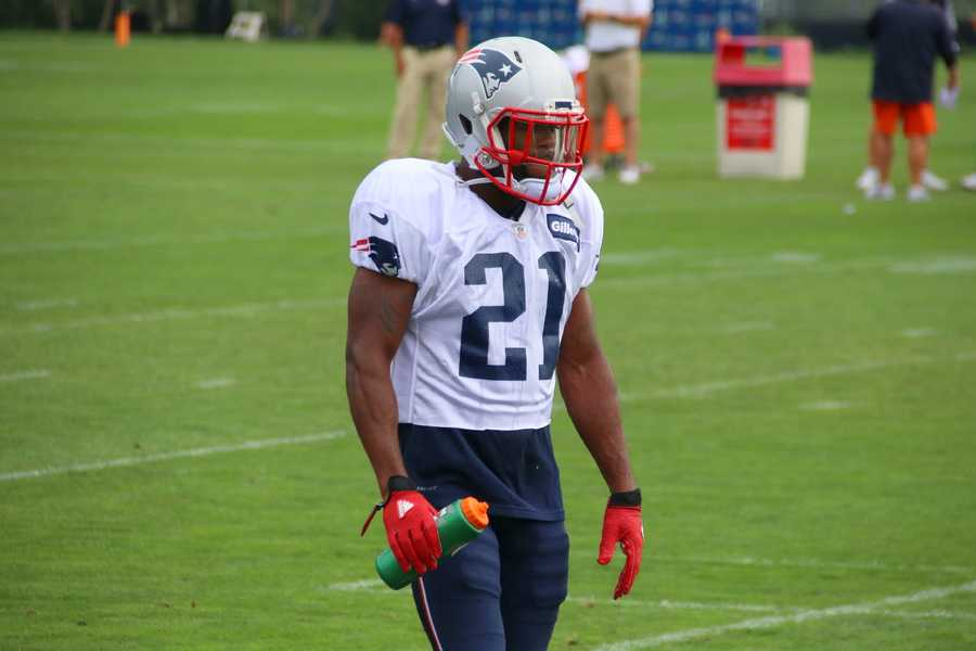 Patriots cornerback Malcolm Butler during drills with the Chicago Bears.