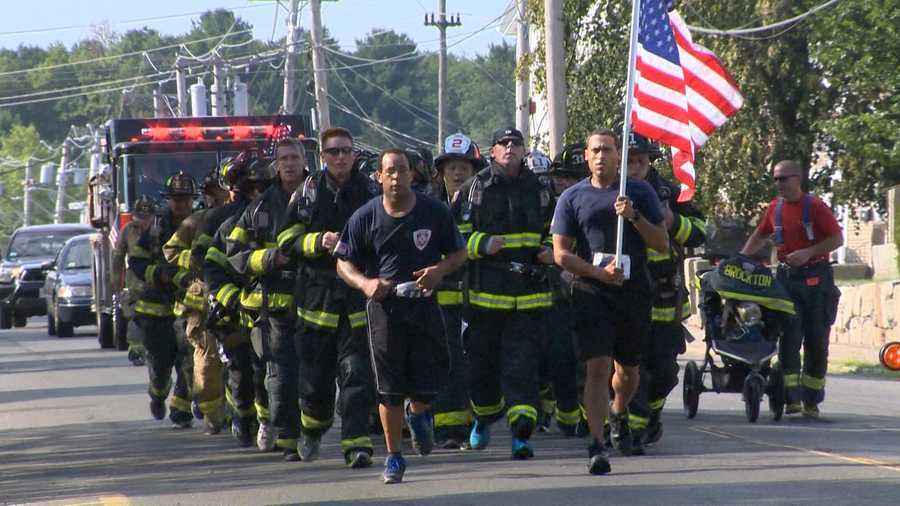 The 3rd annual Firefighter/SSG Kevin J. O'Boyle 5K Run/Walk is held in Salem Saturday.