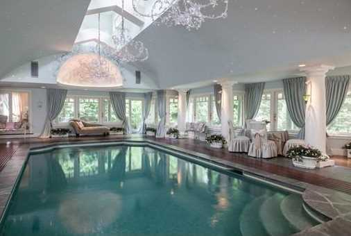 It features a state of the art indoor pool.