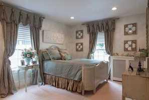 3rd floor offers playroom, 2 bedrooms & office.