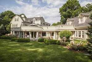Exceptional Circa 1886 residence presents a harmonious blend of contemporary comforts and period details.