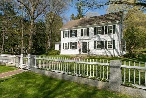 """""""The Francis Gourgas House"""", a beloved c.1826 landmark property, overlooking Monument Street, just steps to the North Bridge, Minuteman Park, Great Meadows Preserve, and Town center amenities."""
