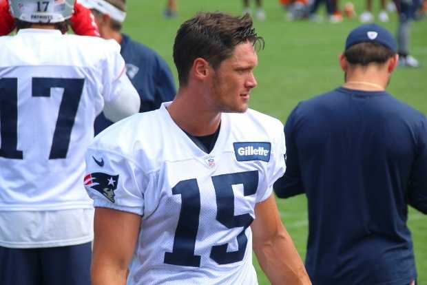 Chris Hogan is ranked 55th among wide receivers and 120th overall.
