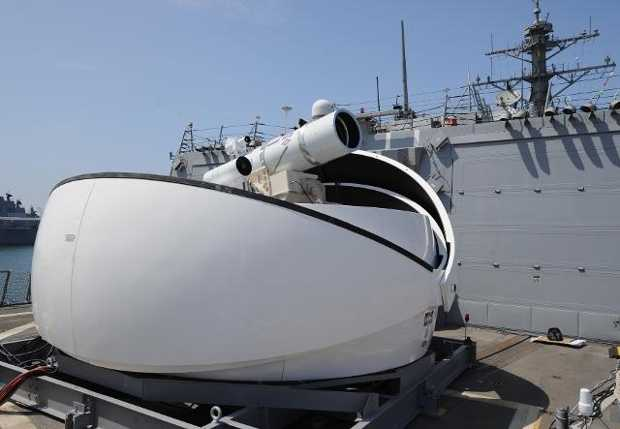 Lasers were patented just a few years before the original Star Trek series, but the modern military really is working on laser weapons. According to Popular Science, the Army plans to have a laser weapon by 2023 and the U.S. Navy already has a defensive laser weapon aboard the USS Ponce.