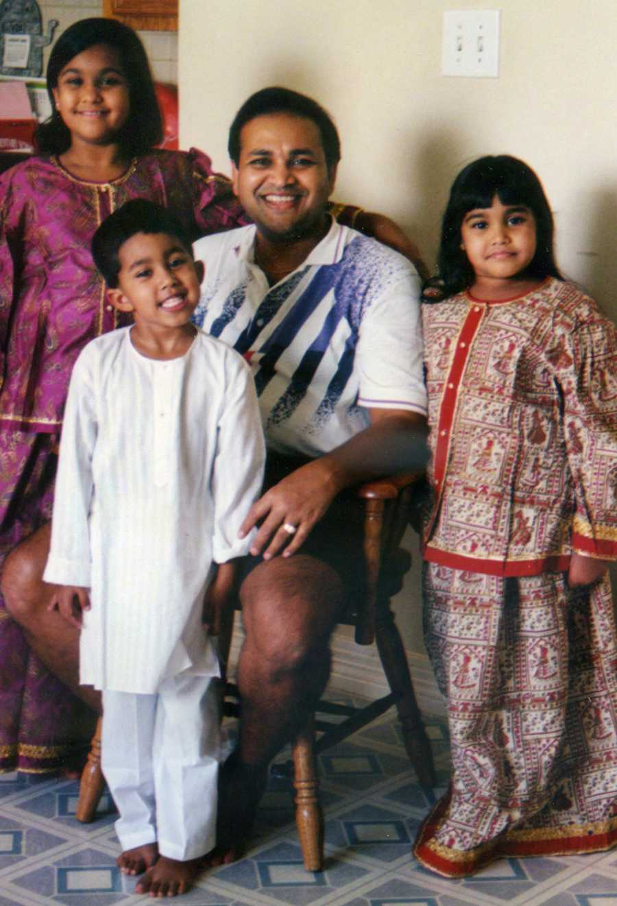 """Sonia Shah's fatherJayesh """"Jay"""" Shah was killed. Sonia is a Baylor University social work student, who spent the summer volunteering with refugee aid organizations in Greece. She said her father's death fueled her impulse to try to help where others turn away"""