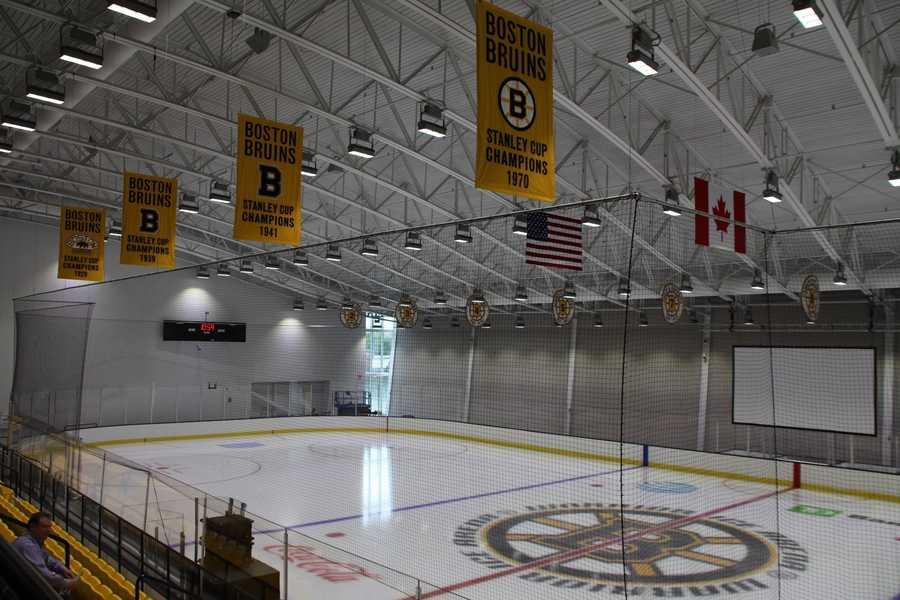 The new ice rink seats660 spectators.