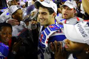 He is a Super Bowl championSince Garoppolo was on the active roster of the Super Bowl XLIX New England Patriots team, he is officially a Super Bowl champion. To put that into perspective, Garoppolo is the only quarterback from his class with a Super Bowl ring.
