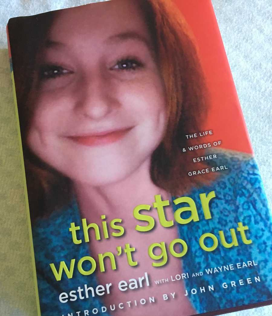 Esther Grace Earl, of Quincy, died in 2011 at the age of 16 from thyroid cancer. This is her story and a collection of her own writings.