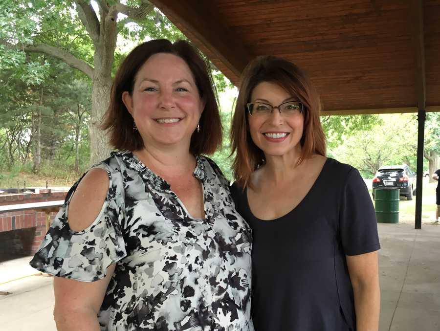 Lori Earl and Saladna.