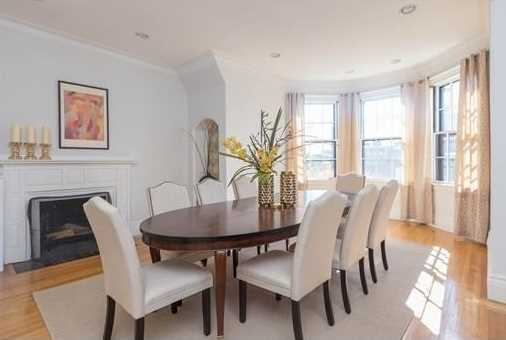 Enjoy ultimate city views and abundant natural sunlight in this south-facing penthouse comprised of 4 exposures overlooking the grand Commonwealth Avenue Mall.