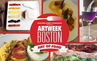Event: Art of FoodHosted by various restaurants. Pictured here: La Morra, Gennaro's 5 North Square, Menton, Michael's Deli, ForageFind it on every day of ArtWeekhttp://www.artweekboston.org/event/art-of-food/2016-09-30/