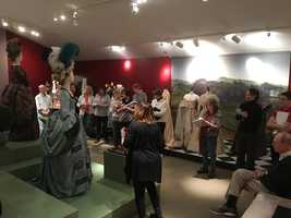 "Event: Premier Tour of ""Cut! Costume and Cinema Exhibit""Host: Heritage Museums & GardensDate: Oct. 1 - 11:00 - 11:45 a.m.Link: http://www.artweekboston.org/event/premiere-tour-of-cut-costume-and-the-cinema-exhibit/"