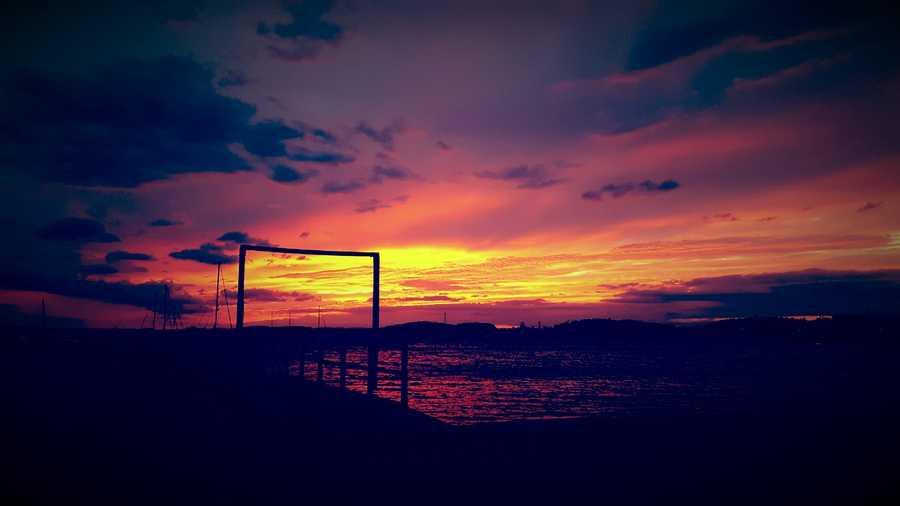 Sunset from Hull, Massachusetts