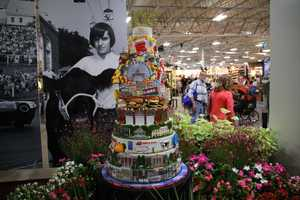 Pete's Sweets in East Longmeadow, Mass., and his four staff members spent an estimated 200 hours making the cake and an additional 18 hours of research and design.