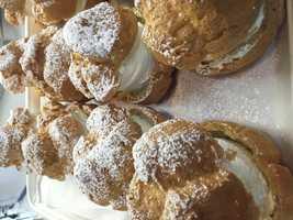 The Big E's famous cream puffs.
