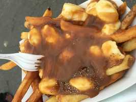 Poutine french fries