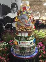 Big E 100th anniversary cake by Pete's Sweet Eats in East Longmeadow