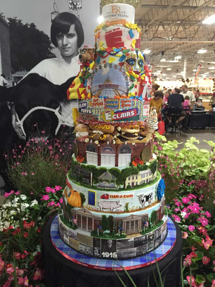 Big E 100th anniversary cake by Pete's Sweet Eats in East Longmeadow