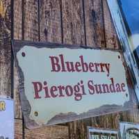 How about a blueberry pierogi sundae?