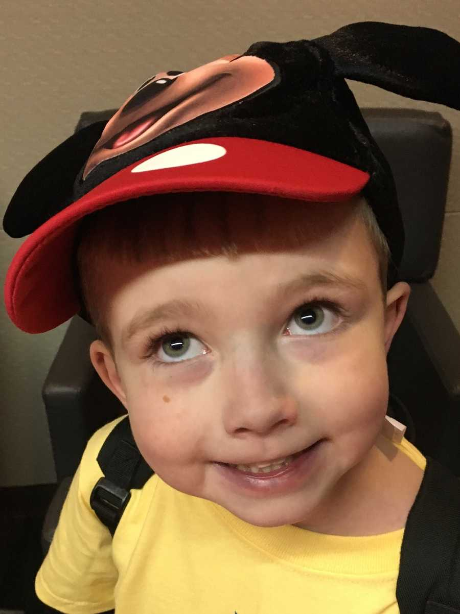 Giovanni, 6, of Medford, has been diagnosed with a life-threatening heart condition.