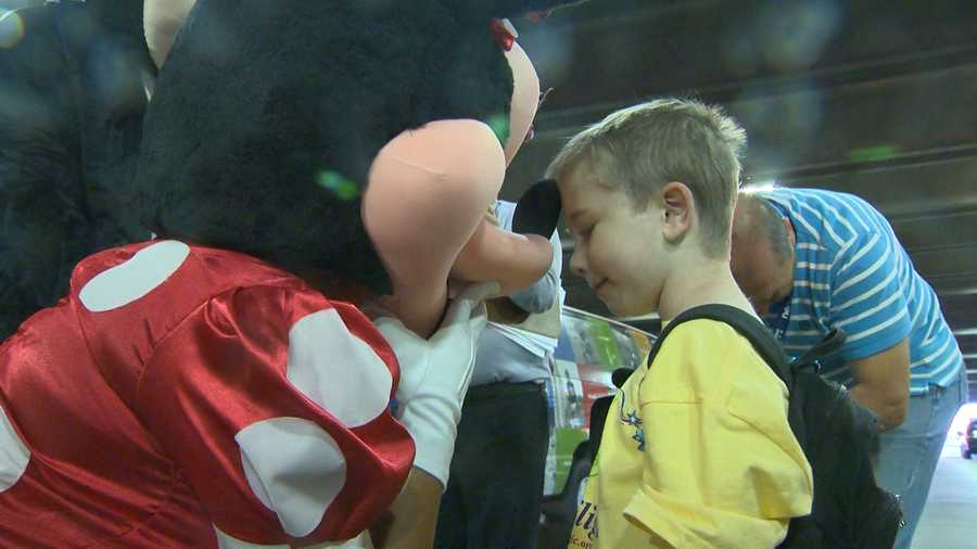 Giovanni's Make-A-Wish wish is to meet his favorite characters at Disney World in Orlando.