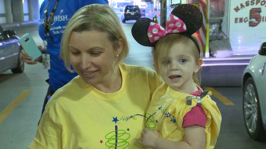 Make-A-Wish Massachusetts and Rhode Island, in partnership with American Airlines' Something mAAgic Foundation, organized the trip and Thursday's send-off.