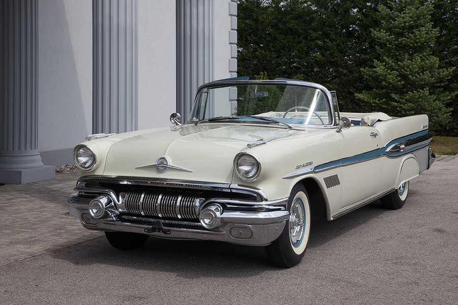 1957 Pontiac Fuel Injected Bonneville convertible