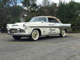1956 DeSoto Indianapolis 500 Pace Car. For more information, click here.