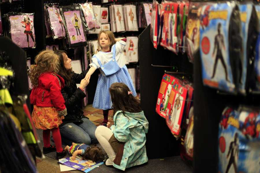 After 11 years, princess outfits have been dethroned as the most popular children's Halloween costumes, according to the National Retail Federation. Check out the list of the most popular costumes for kids and adults.