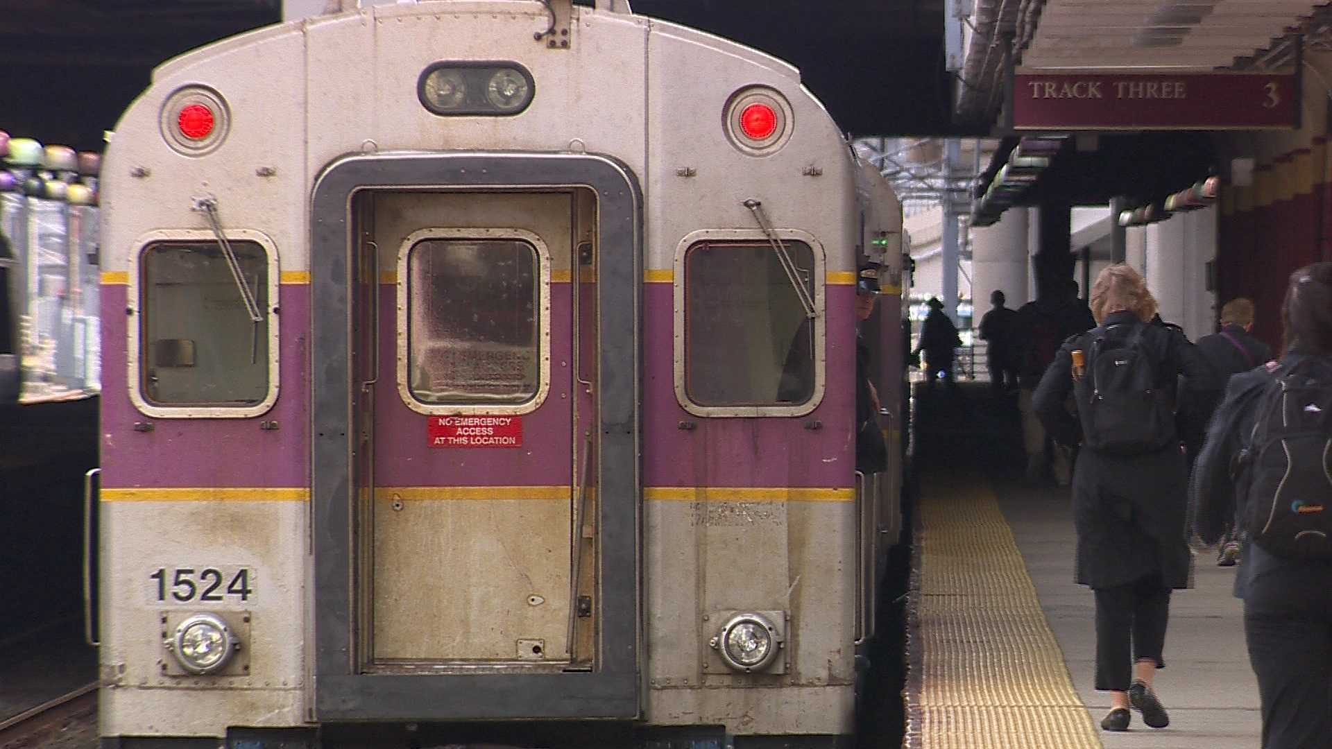 MBTA Commuter Train Generic