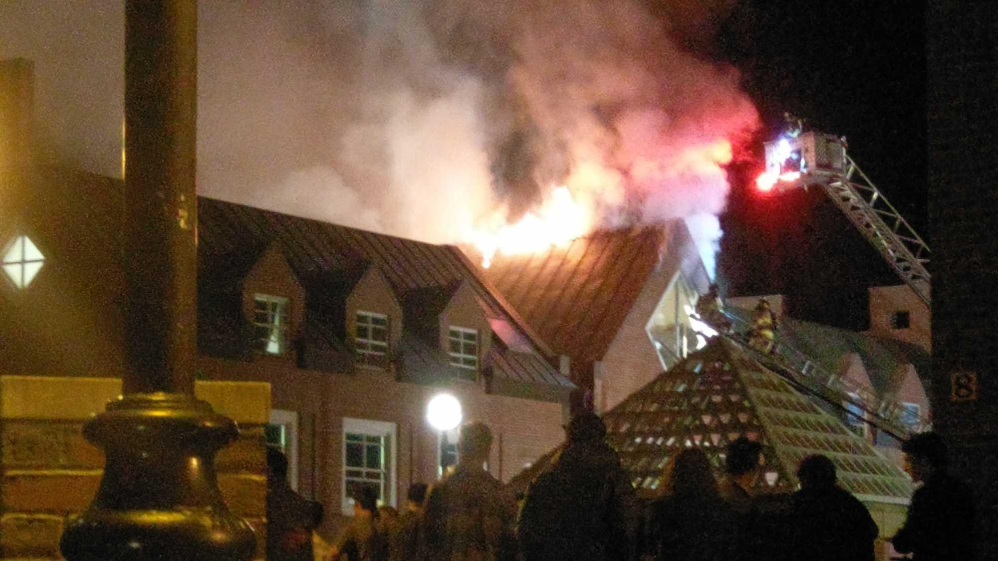dartmouth college fire