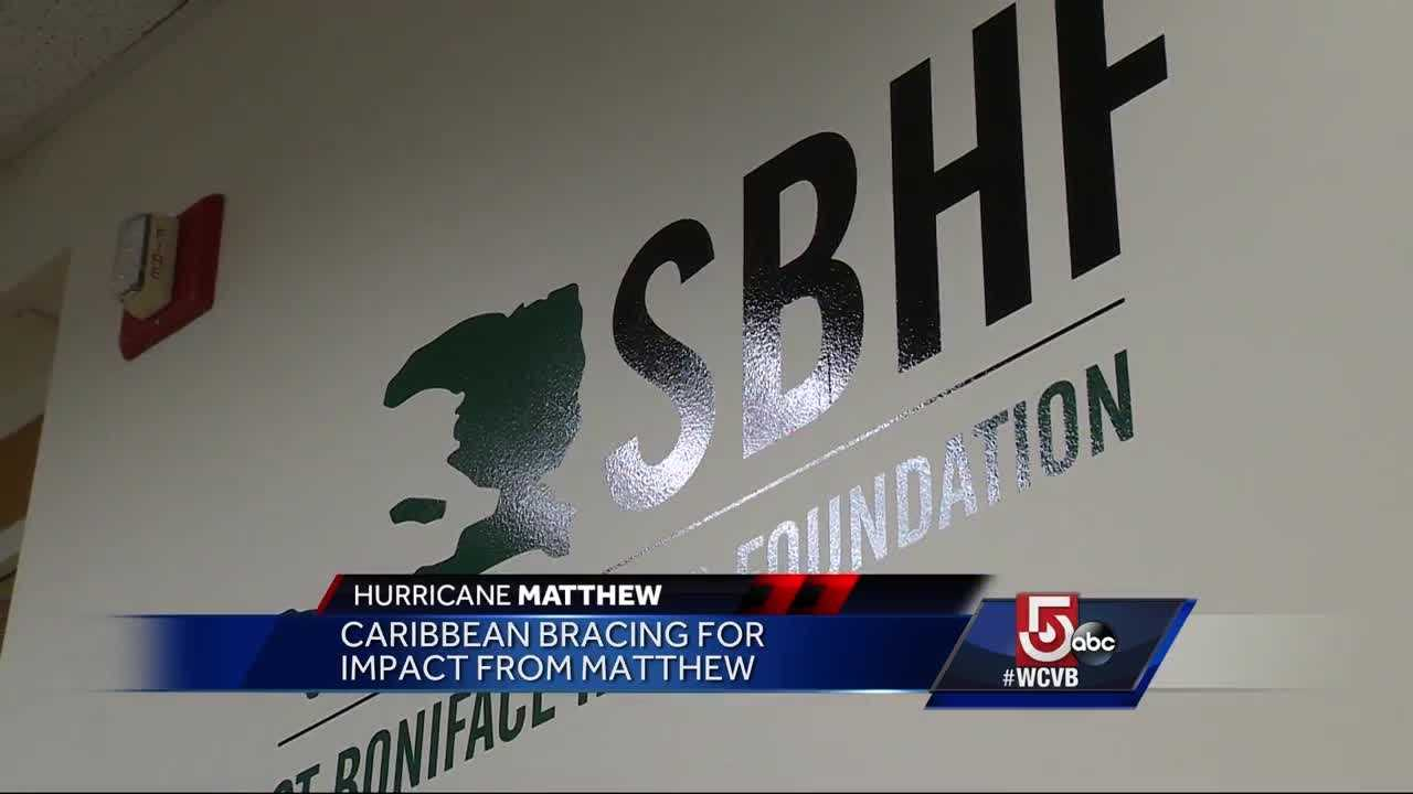 The Caribbean is bracing for Matthew's impact, and its impact affects those in Massachusetts.