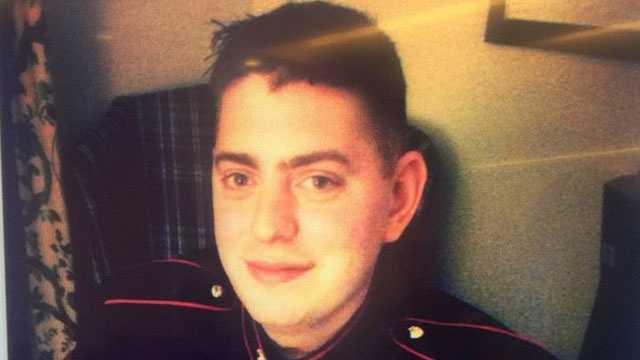 Marine Sgt John Peck