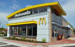 McDonald'sAverage service time: 3.46 minutesPercent accuracy: 92.2