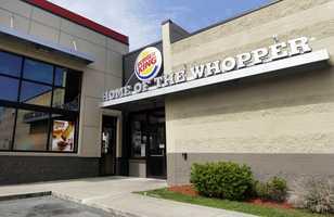Burger KingAverage service time: 3.35 minutesPercent accuracy: 90.5